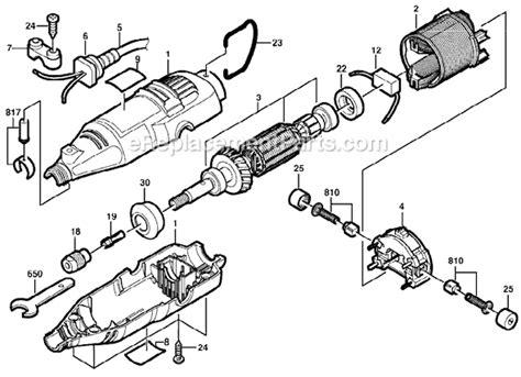 dremel  parts list  diagram fca ereplacementpartscom