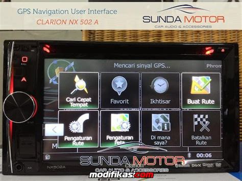headunit clarion japan smart multimedia high sound