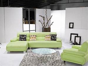 modern light green leather sectional sofa With light green sectional sofa