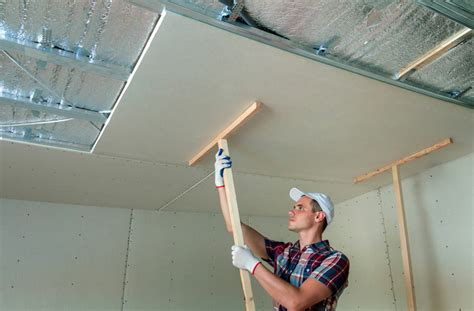 Drywall Ceiling Panels by How To Hang Drywall On Ceilings Tools
