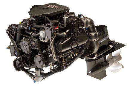 mercruiser   mag mpi  hp bravo engine