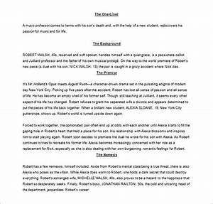screenplay outline template 7 free sample example With microsoft word screenplay template