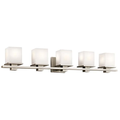 kichler 45193ap tully antique pewter 5 light bathroom