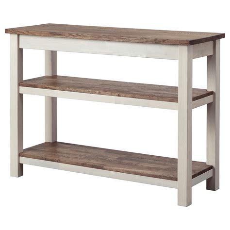 acrylic console table ikea - Compact IKEA console table