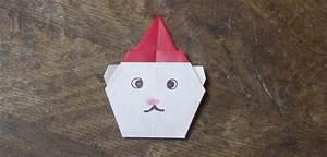 Origami Facile Noel : origami ours de no l ~ Melissatoandfro.com Idées de Décoration