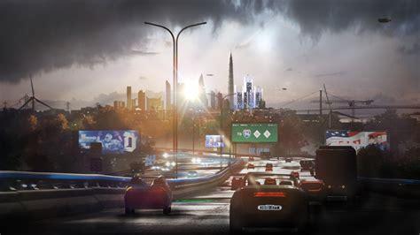 detroit  human city view vehicles  hd games