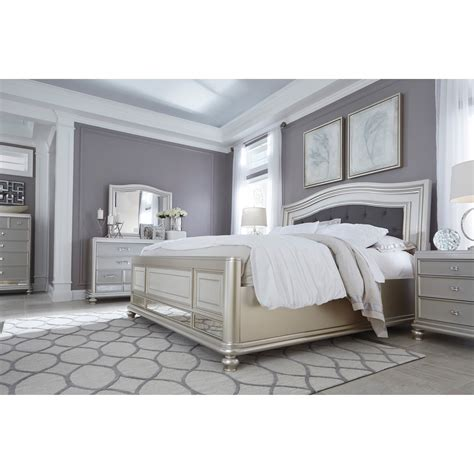 signature design by signature design by coralayne panel bed with