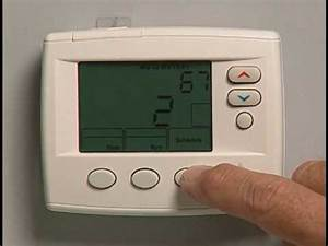 Programming An Emerson 1f80 Thermostat