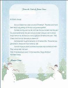 printable letter from santa With free return letter from santa