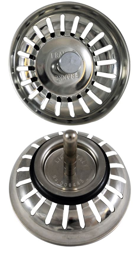 replacement kitchen sink strainer plugs replacement for franke basket strainer waste style 7751