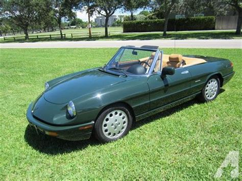 1994 Alfa Romeo Spider For Sale by 1994 Alfa Romeo 2000 Spider Veloce For Sale In Fort