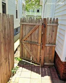 Build Wood Fence Gate