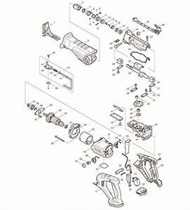 Makita Bjr181 Parts