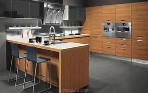 Deco Cuisine Bois : cuisine bois moderne ~ Melissatoandfro.com Idées de Décoration