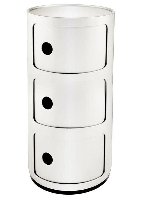 Voir plus d'idées sur le thème collection de meubles, kartell. Meubles Made in Design - Meuble de rangement Componibili 3 tiroirs Kartell - Iziva.com