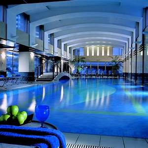 Luxury, Indoor, Swimming, Pool, Design, With, Elegant, Lighting, On, The, Wall, As, Well, Stair, Beside, Pool, A