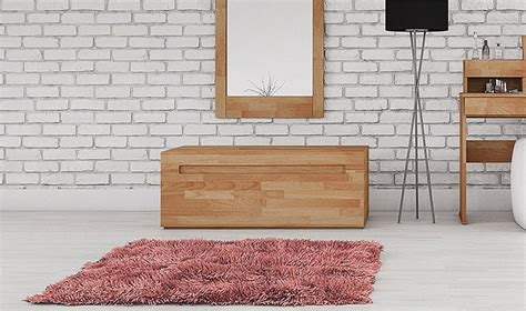 coffre chambre coffre de rangement pour lit en bois massif