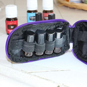 essential oils travel carrying cases