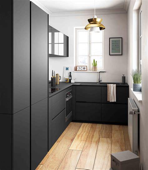 beautiful cuisine noir mat et bois photos lalawgroup us
