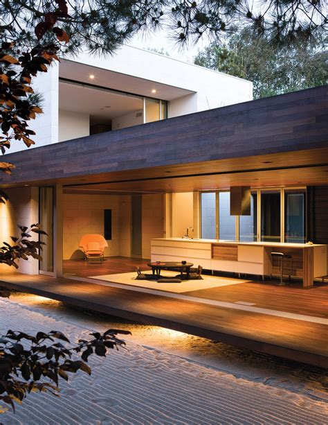 japanese inspired homes japanese inspired home interior modern decor ipe wood ground level and southern california