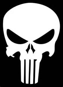 Punisher Skull Car Decals