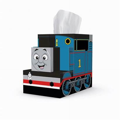 Thomas Friends Cube Tissue Pack Character Into