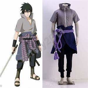 2017 Anime Naruto Uchiha Sasuke 6th Halloween Cosplay ...
