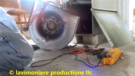 furnace fan not working gas furnace blower fan not working part 1 of 2 youtube