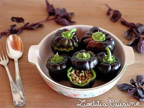 cuisine vegane recettes de poivrons farcis et cuisine vegane