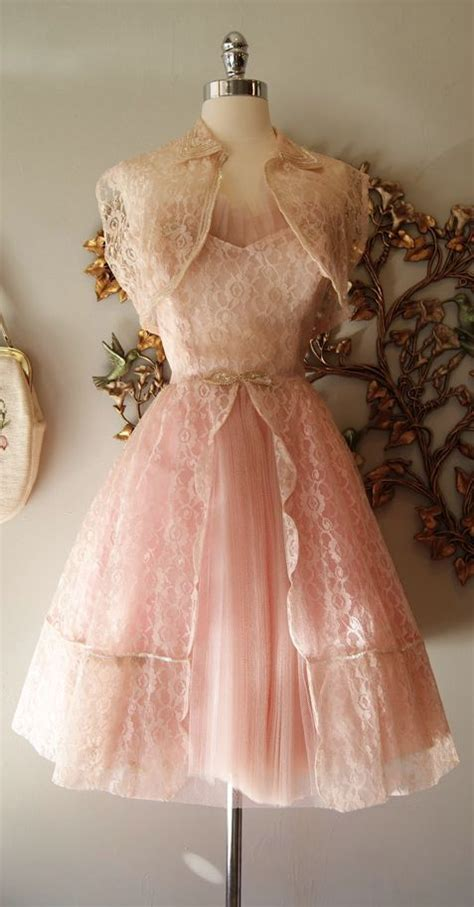 shabby chic cocktail dress prom ballerina and pink lace on pinterest