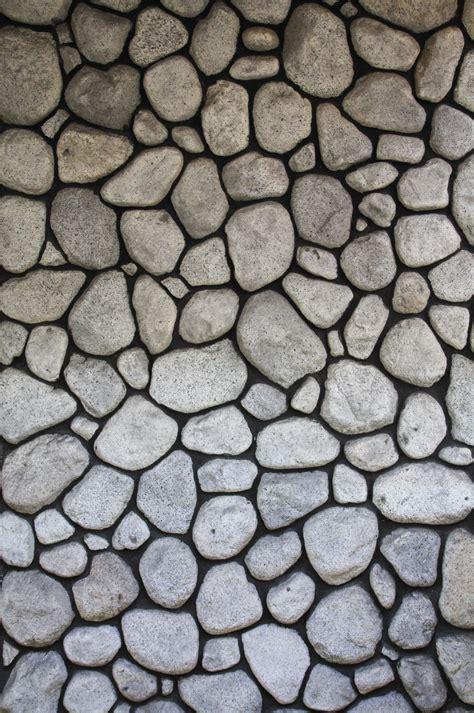 Stone Texture Cobblestone Wall Flag Rock Masonry Grey