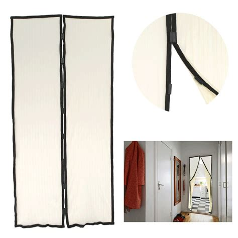 free magic mesh magnetic screen kitchen door curtain
