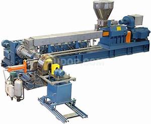 Two-Stage Twin Screw & Single Screw Compounding Extruder ...