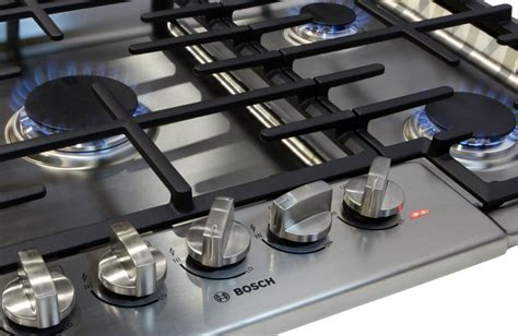 gas cooktop reviews bosch ngm8655uc 36 inch gas cooktop review reviewed