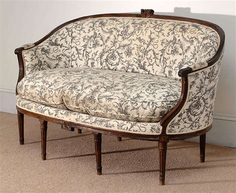 canapé style louis xvi style canape corbeille sofa at 1stdibs