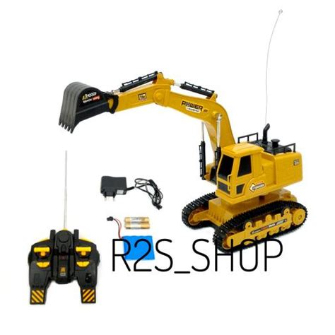 Mainan Mobil Excavator Pullback mainan mobil remote truck excavator heavy