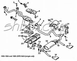 1995 Chevy Silverado Exhaust Diagram