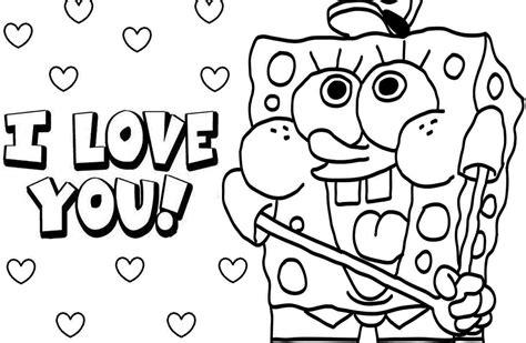 kumpulan gambar mewarnai spongebob untuk anak
