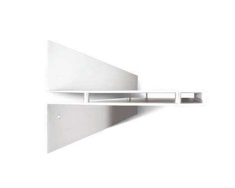 Mensola Design by Mensola Design Toast In Acciaio 100 Cm Nera Grigia