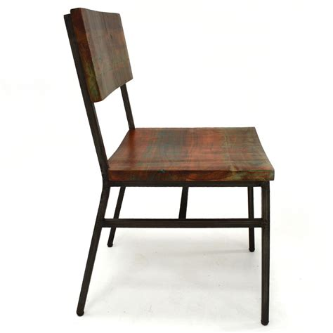 niles dining chair reclaimed wood home source furniture