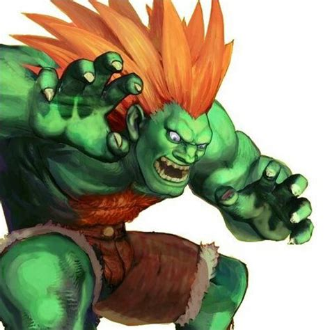 Blanka Street Fighter Street Fighter Video Game
