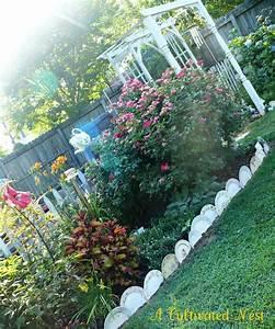 Garden, Bed, Edging, Ideas