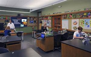 Poultney High School Science Classrooms