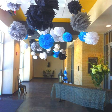 Used Prom Decorations - 25 best images about prom on paper pom poms