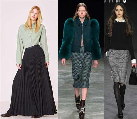 Модные юбки ВеснаЛето 2018 тенденции и фото