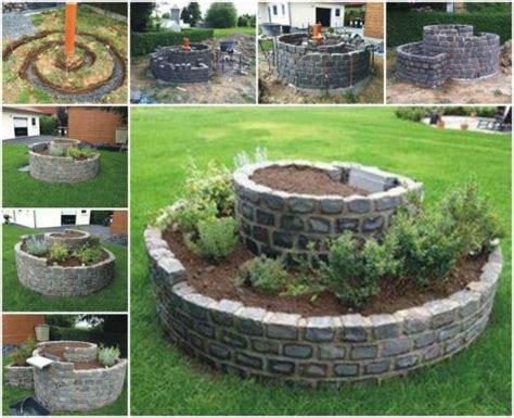 Wonder Diy Spiral Herb Garden