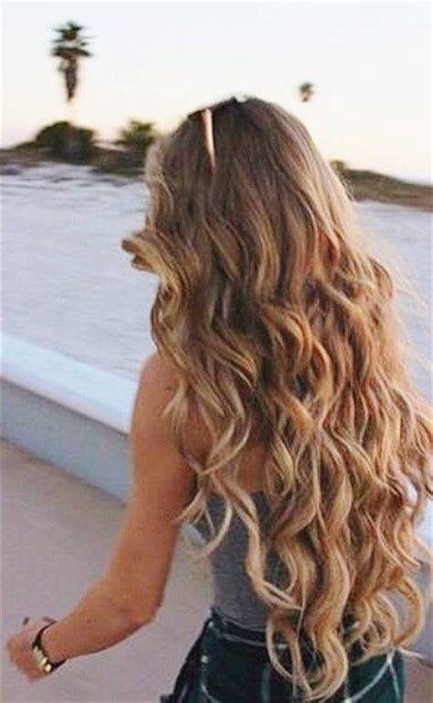perms long hair ideas  pinterest permed long
