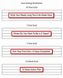 goal worksheets Archives - Personal Success Today