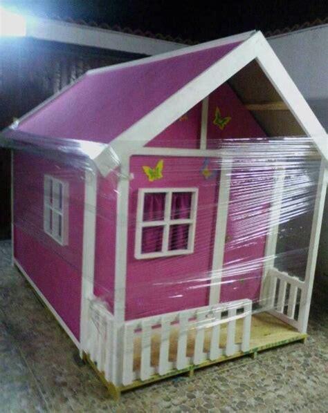 casa munecas madera ninos parque preescolares guarderias
