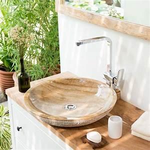 Garten Waschbecken Stein : onyx marmor waschbecken lemper geh mmert 50 cm bei ~ Lizthompson.info Haus und Dekorationen